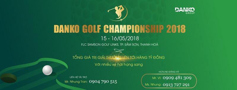 Giải golf Danko Championship – Giải đấu đẳng cấp gây tiếng vang lớn trong làng Golf Việt