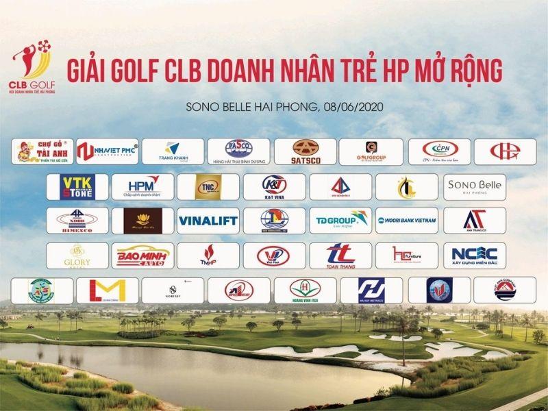 Giải golf CLB DOANH NHÂN TRẺ HẢI PHÒNG MỞ RỘNG 2020 được tổ chức vào ngày 8/6/2020