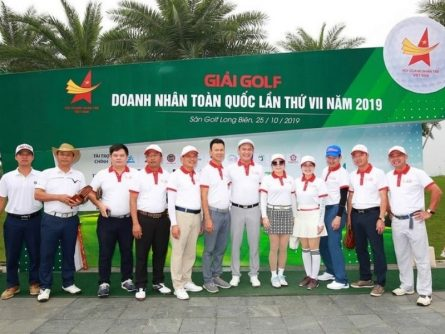 Giải Golf Doanh nhân trẻ toàn quốc lần thứ 7 năm 2019 thu hút nhiều golfer nổi tiếng tham gia