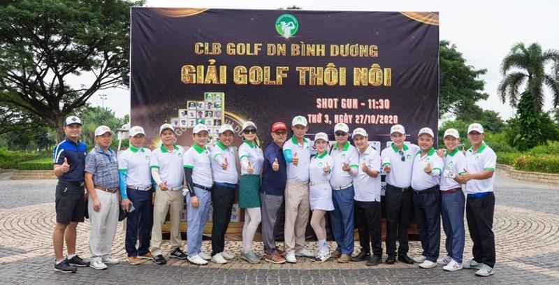 Ngày 27/10 CLB Golf Doanh nhân Bình Dương đã tổ chức giải golf Thôi Nôi
