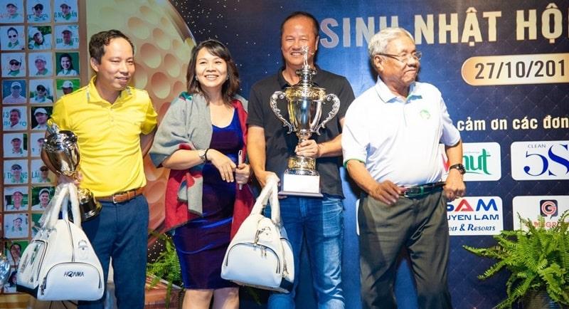 Golfer Mai Văn Nghĩa đoạt giải Best Gross
