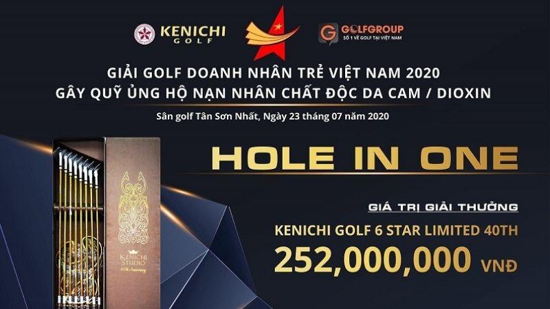 GolfGroup tài trợ giải Golf gây quỹ ủng hộ các nạn nhân chất độc màu da ca/dioxin