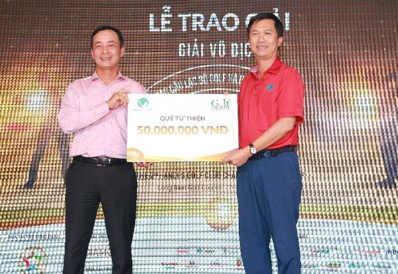 Hoạt động trao giải trong Giải golf các câu lạc bộ Hà Nội 2019