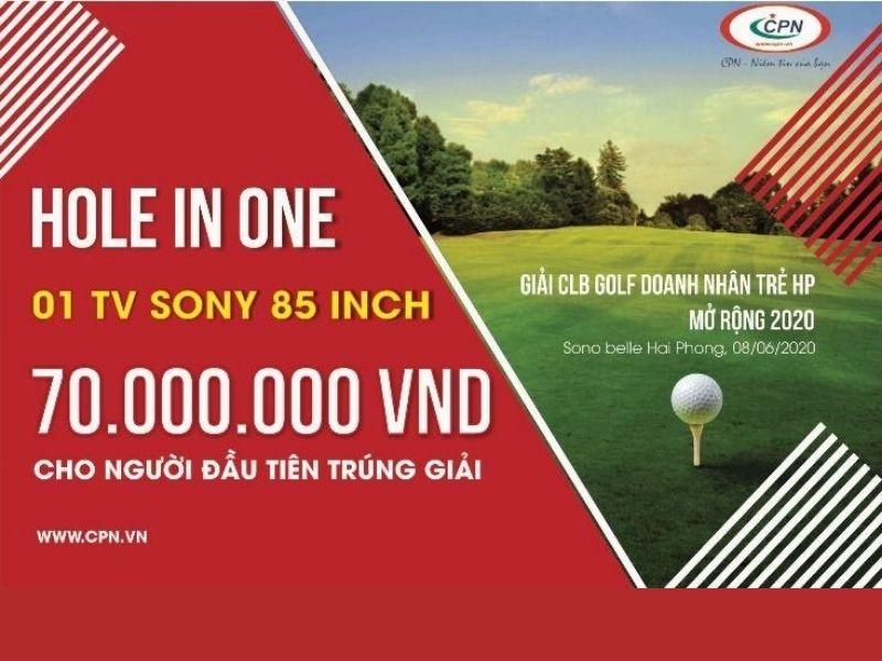 Một tivi sony trị giá 70.000.000 đồng cho người chơi thắng cuộc