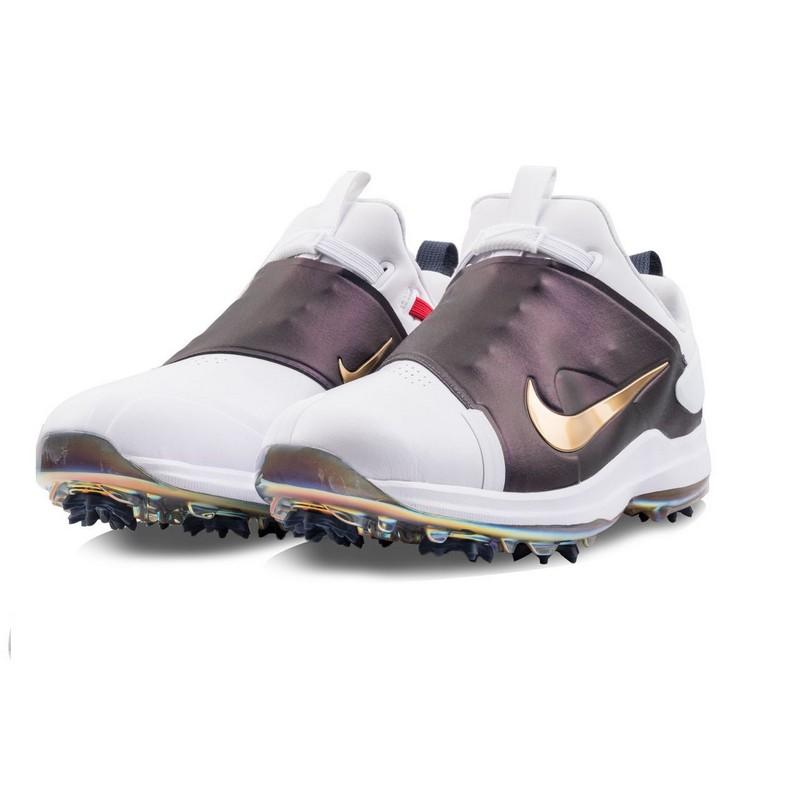Giày nam đánh golf Nike Tour Premiere màu trắng kết hợp tím