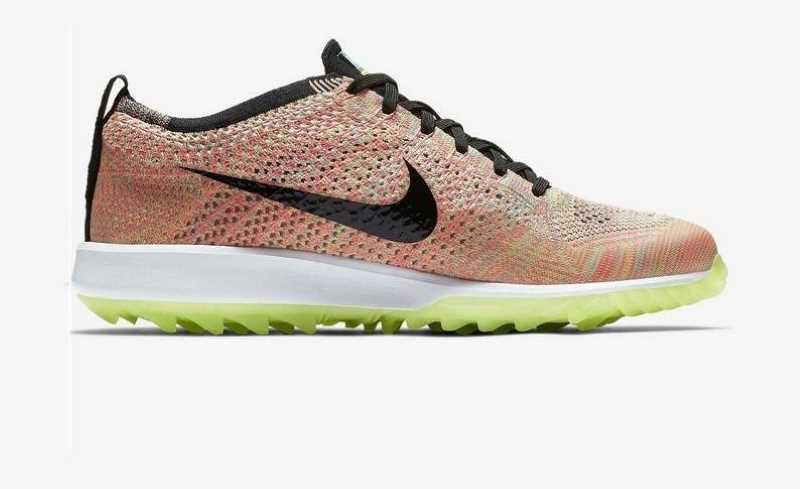 Giày golf Nike Flyknit Racer G dành cho các golfer nữ