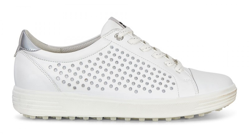 Giày ECCO Casual Hybrid dành cho nữ phiên bản màu trắng
