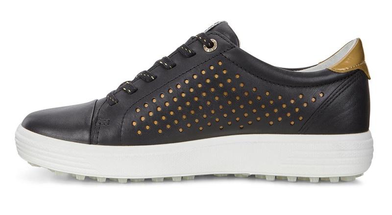 Giày ECCO Casual Hybrid dành cho nữ phiên bản màu đen