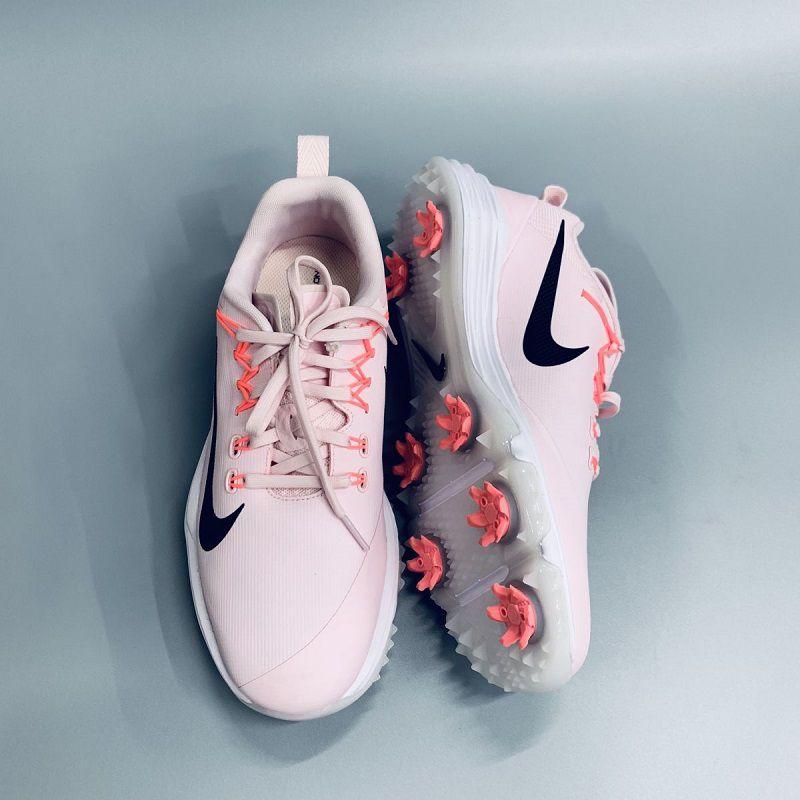 Giày golf nữ Nike Women Lunar Command 2W màu hồng phấn nhẹ nhàng