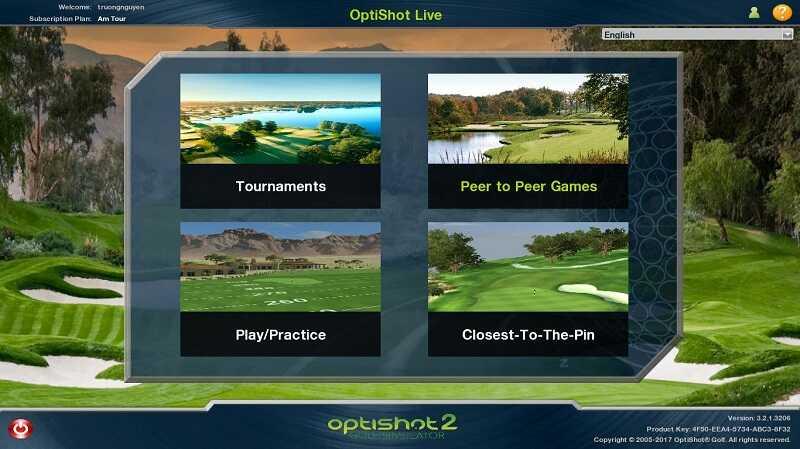 Phòng tập Golf 3D Optishot có chi phí lắp đặt khá phải chăng tuy nhiên tính năng còn hạn chế