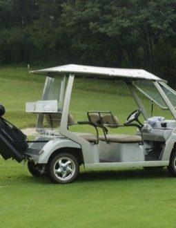 Golf Cart là dòng xe sử dụng để chở người chơi golf và dụng cụ sân golf