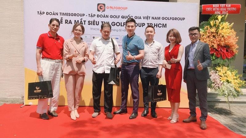 Sự kiện thành lập siêu thị GolfGroup thành phố Hồ Chí Minh