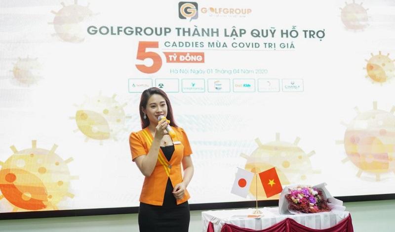 Golfgroup chi 5 tỷ đồng thành lập Quỹ hỗ trợ Caddie mùa Covid-19