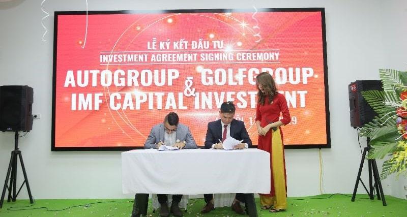 Lễ ký kết nhận vốn đầu tư từ IMF Capital Investment đến từ Dubai