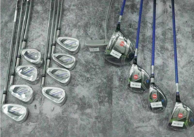 Hình ảnh thực tế của bộ gậy fullset XXIO MP1100
