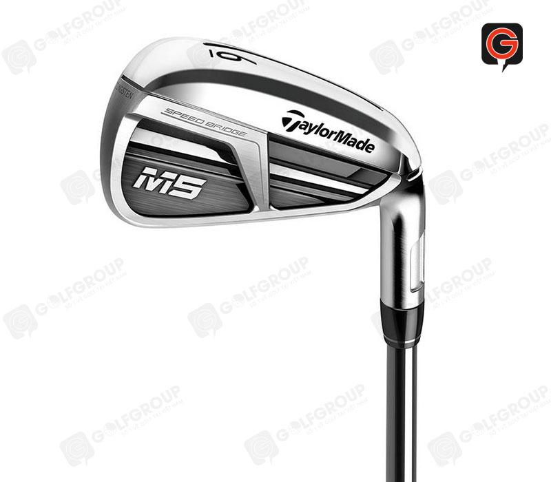 Bộ gậy golf Ironset TaylorMade M5 Steel (4-9,P) được rất nhiều golf thủ yêu thích