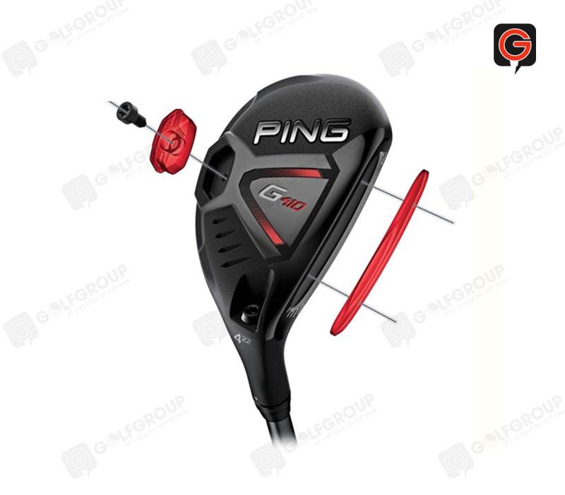 Gậy hybrid 6 Ping G410 30 độ sở hữu nhiều công nghệ hiện đại