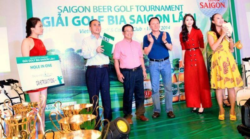 Golfer Lê Xuân Phương hiện đang sở hữu 14 cú HIO