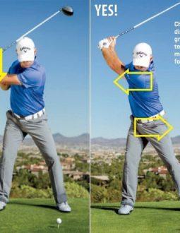 Hướng dẫn chuyển đổi trọng tâm cơ thể khi thực hiện swing