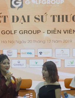 Đại sứ thương hiệu tập đoàn GolfGroup - Kiều Yến Ngọc