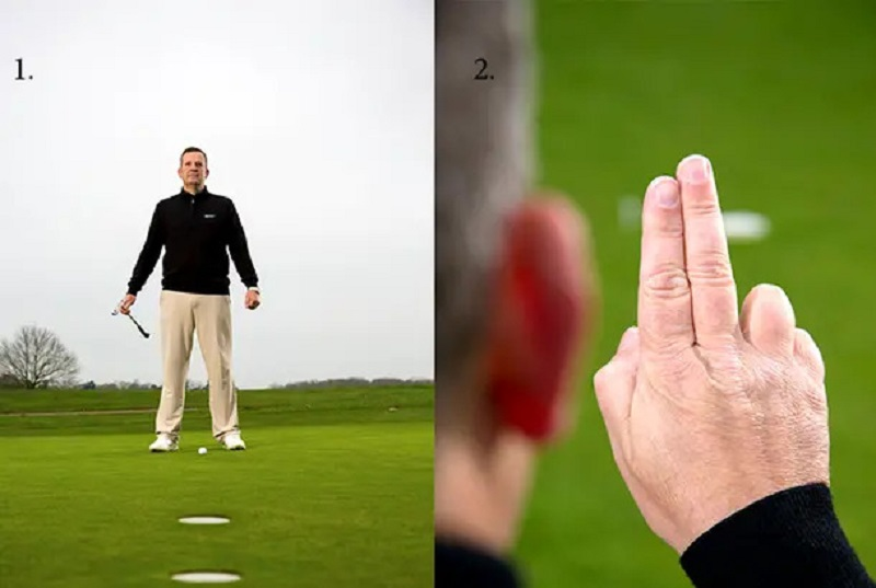 Nguyên tắc 2: Sắp xếp các ngón tay của bạn để tìm AimPoint