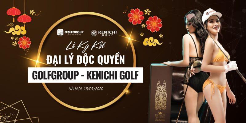 Lễ ký kết phân phối độc quyền giữa Golf Group và Kenichi Golf