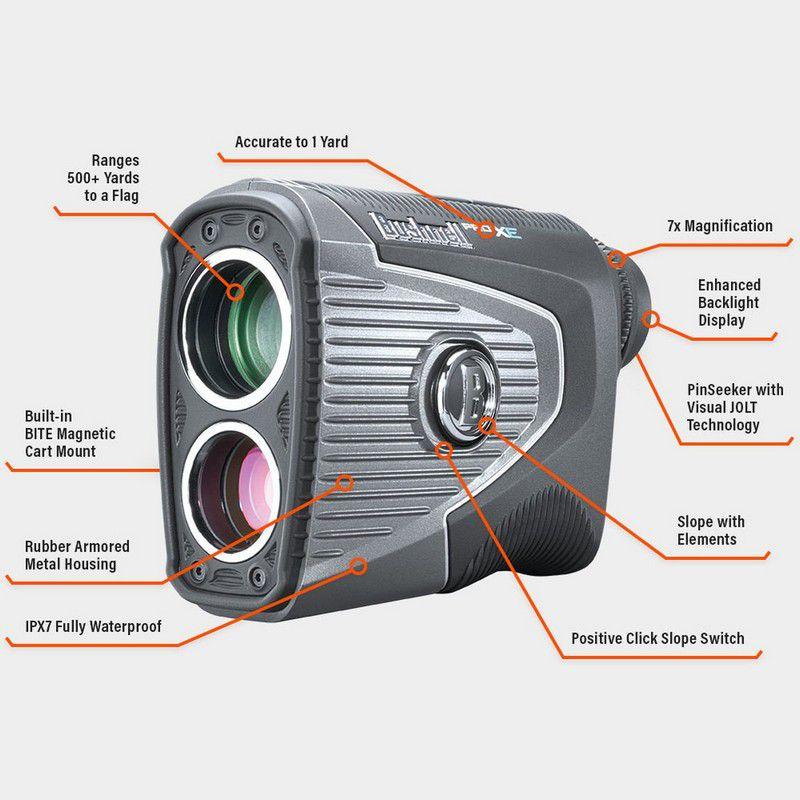 Bushnell Pro XE được tích hợp nhiều tính năng nổi trội