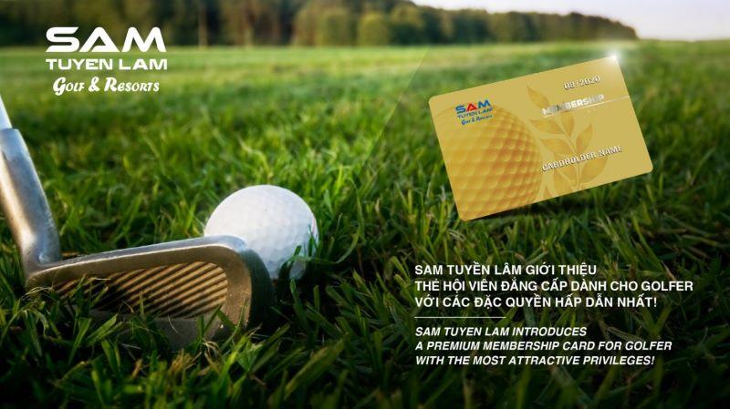 Thẻ golf của các golf thủ có thể là ngắn hạn theo năm hoặc dài hạn đến chục năm