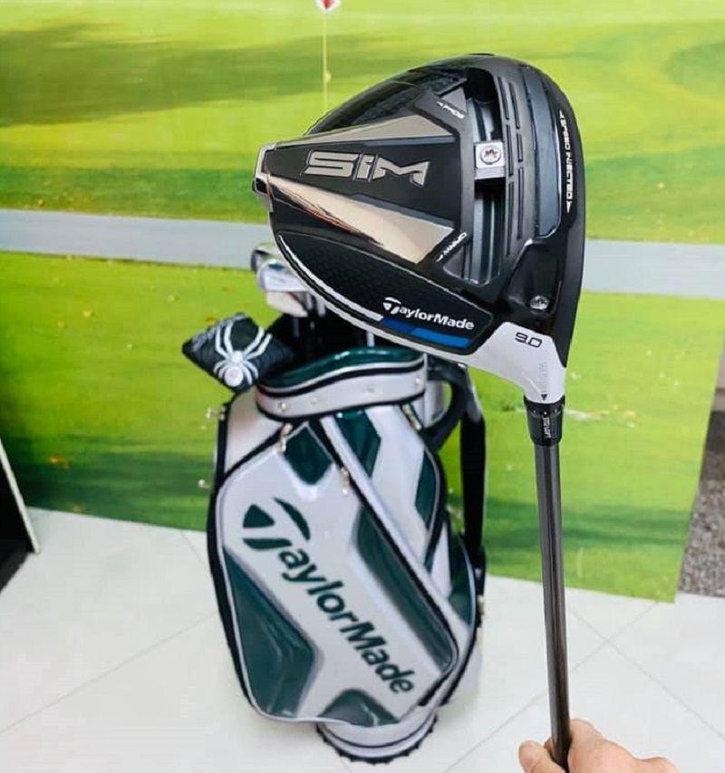 Hiện tại các mẫu gậy Taylormade Sim đã có trên hệ thống của Golf Group