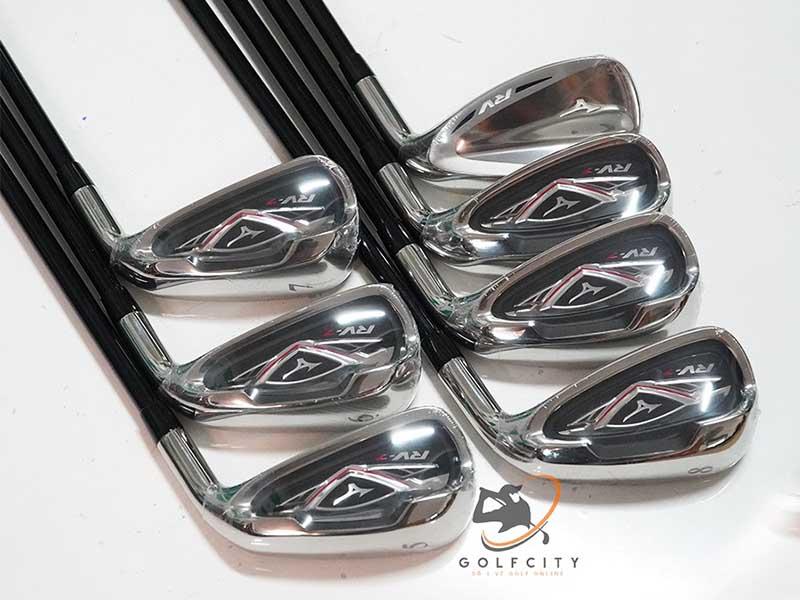Bộ gậy chơi golf tiêu chuẩn Mizuno RV-7 đang có tại GolfGroup