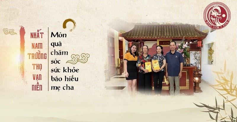 Gói chăm sóc sức khỏe và điều trị bệnh cao cấp Nhất Nam Trường Thọ - món quà sức khỏe CEO Nguyễn Phương Thảo dành tặng cha mẹ nhân ngày gia đình Việt Nam 28/6