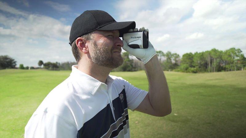 Ống nhòm đo khoảng cách chơi golf