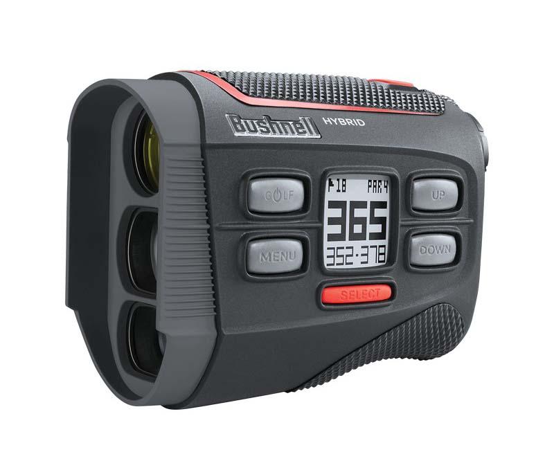 Ống nhòm golf Bushnell Hybrid Laser RangeFinder có màu đen sang trọng