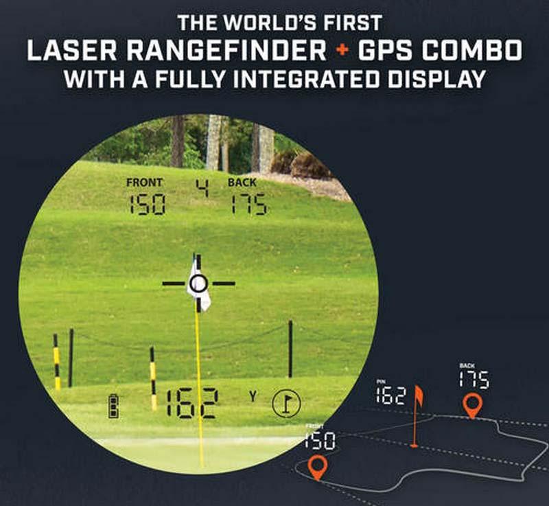 Mẫu ống nhòm này cho phép đo khoảng cách laser và GPS