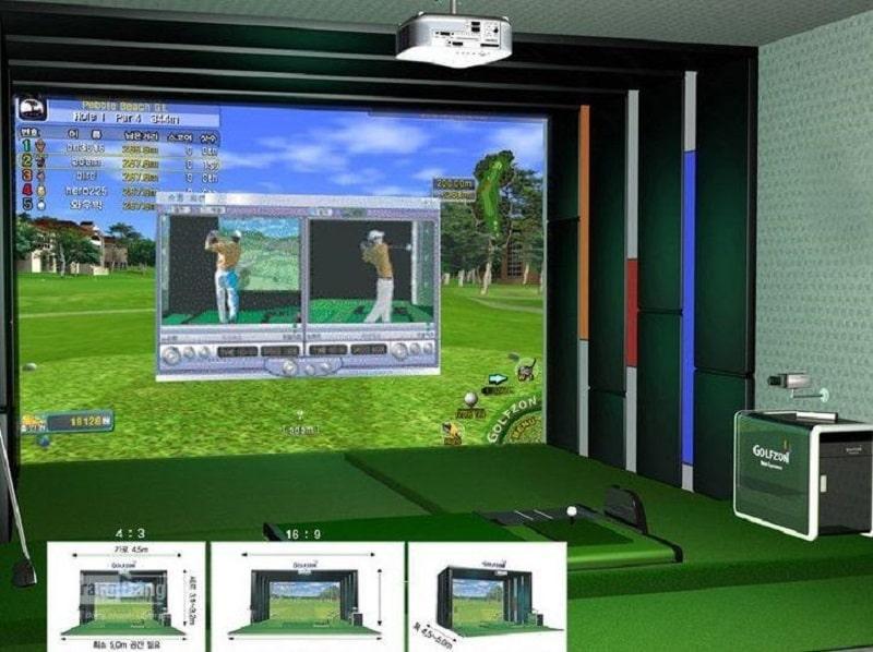 Hiểu đơn giản, phần mềm Golf 3d là nơi mà các golfer có thể tập golf như khi ra sân thật