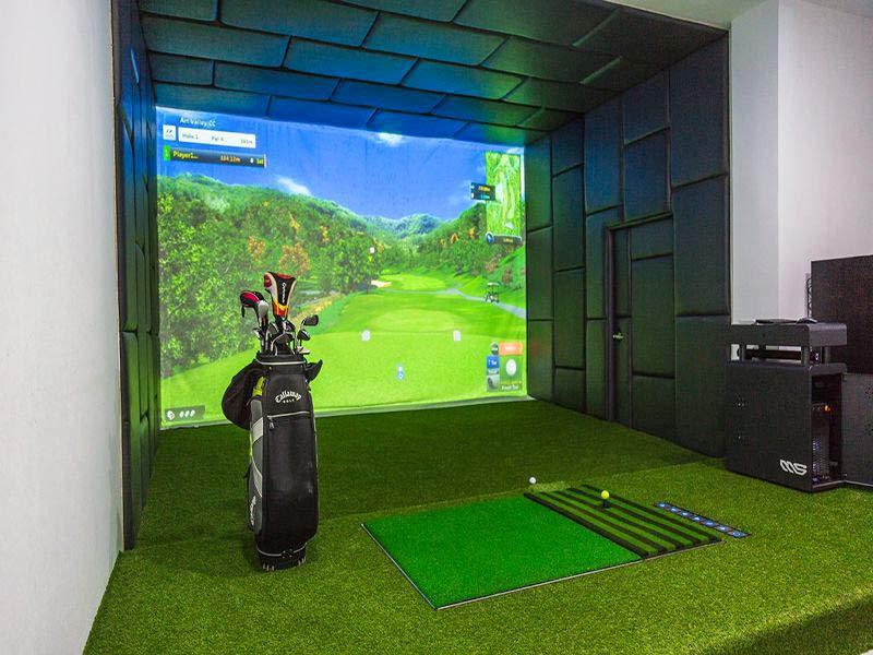 Phòng Golf 3D hiện đại bậc nhất tại Golfgroup