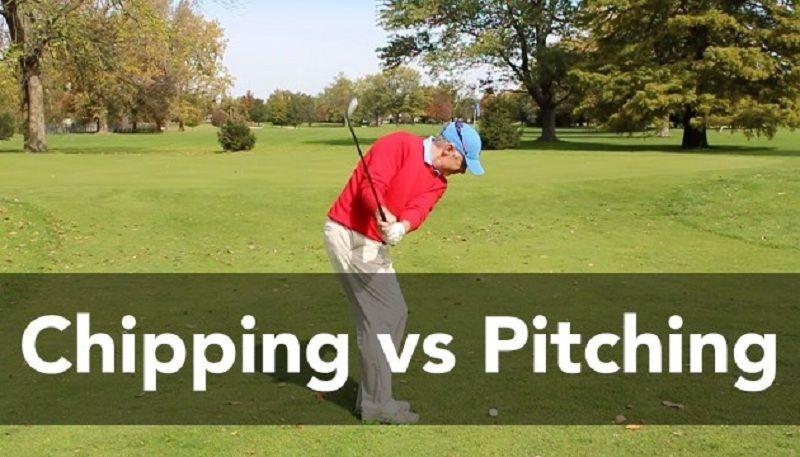 Pitching và Chiping golf cùng mục tiêu nhưng cách thực hiện hoàn toàn khác nhau