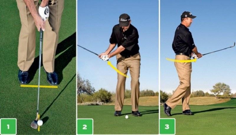 Các golfer cần chú ý tư thế đứng khi thực hiện Pitching golf