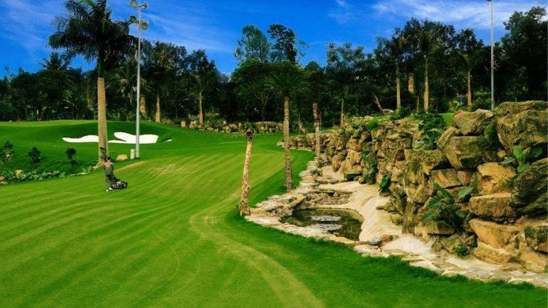 Sân golf 9 hố và 18 hố giá tốt Hà Nội - Asean Golf Resort