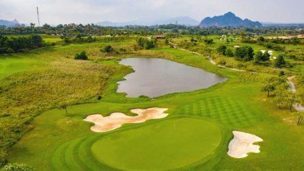 sân golf 9 hố và 18 hố giá tốt hà nội