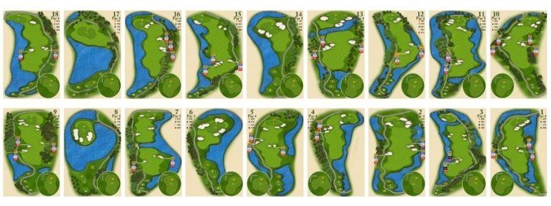 Sân golf Long An được thiết kế bởi công ty hàng đầu thế giới về thiết kế và thi công sân golf