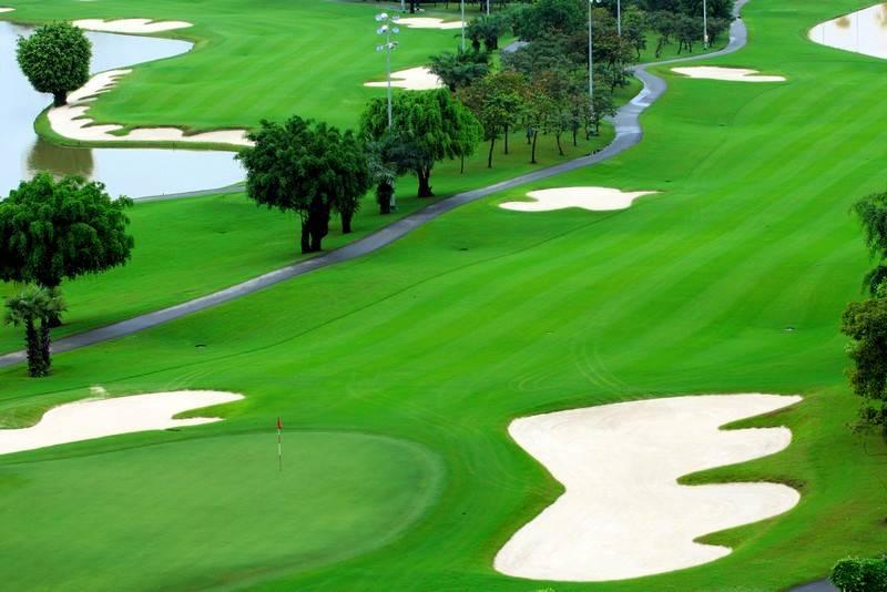 Hình ảnh sân Golf Long Thành, điểm đến của những người yêu golf