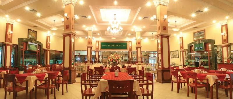 Đến với sân golf Long Thành người chơi sẽ được trải nghiệm dịch vụ nhà hàng cấp cao