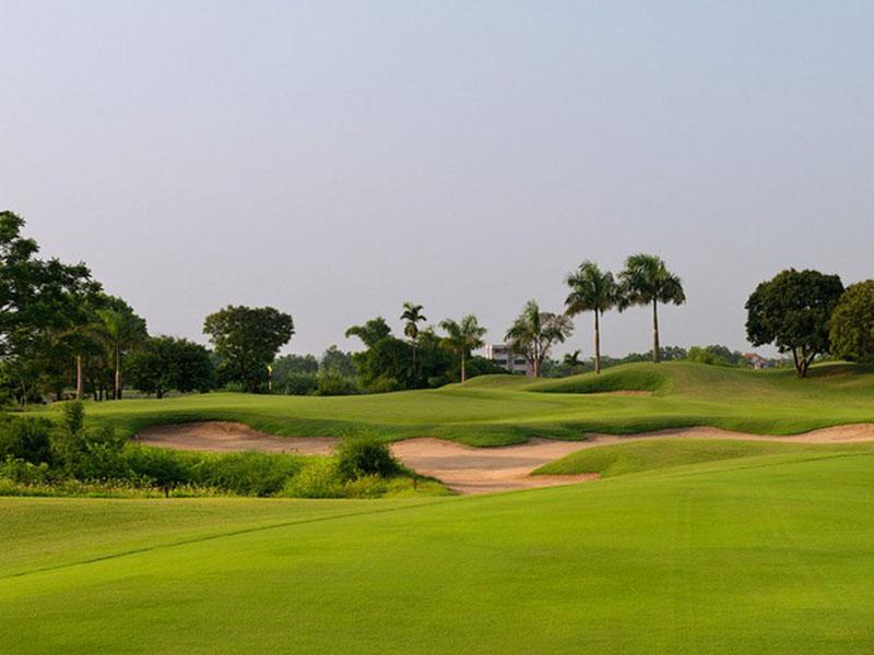 Thử thách là điểm thu hút các golfer khi tới sân golf Skylake