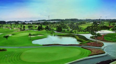 Cảnh quan sân golf Twin Doves Bình Dương