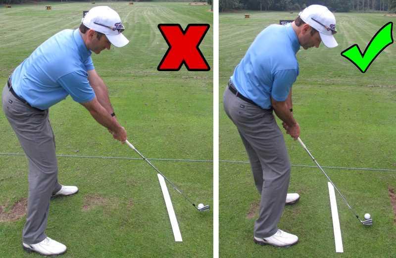 Đứng quá gần hoặc xa quả bóng cũng có thể dẫn đến lỗi kỹ thuật khi đánh