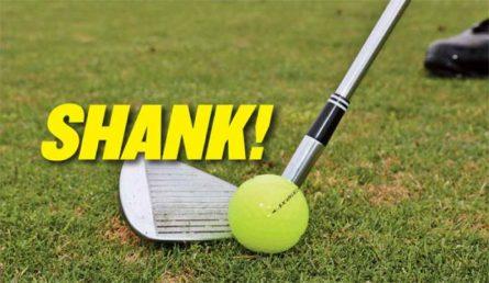Shank là thuật ngữ chỉ lỗi trong đánh golf