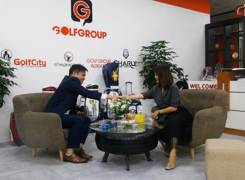 Cái bắt tay của CEO GolfCity với Chủ tịch tập đoàn GolfGroup đánh dấu bước phát triển mới