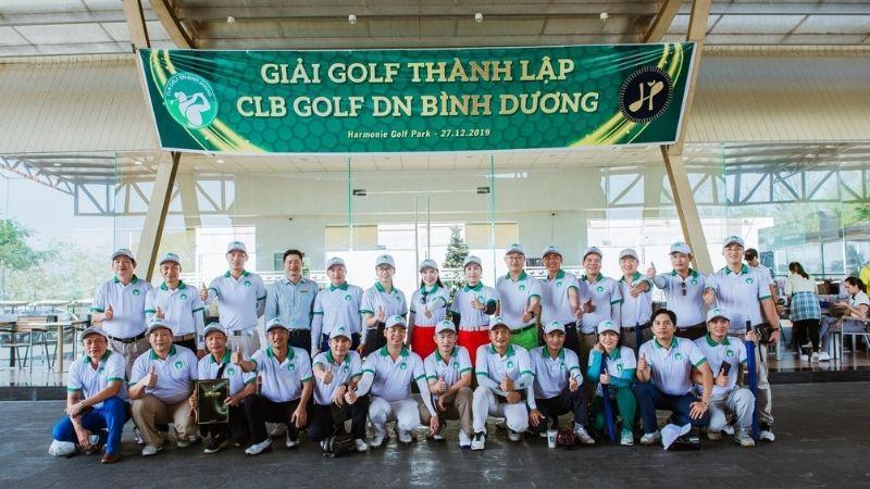Giải golf thành lập câu lạc bộ golf Doanh Nhân Bình Dương