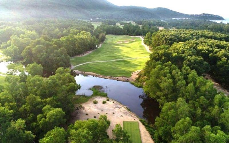 Tổng quan cảnh quan sân golf Huế